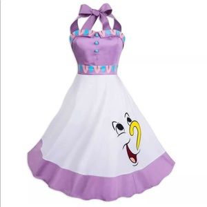 Disney Mrs Potts Chip Shop the Dress Halter Dress